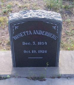 Rosetta Anderberg