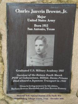 Maj Charles Janvrin Browne, Jr