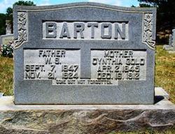 Cynthia A. <I>Gold</I> Barton