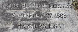 Grace <I>Shepherd</I> Merchant