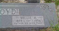 Willie H Boyd