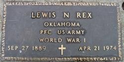 PFC Lewis Nathaniel Rex