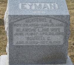 Blanche Lillie <I>Simpson</I> Eyman