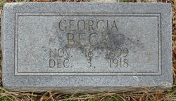 Georgia <I>Rumley</I> Beck