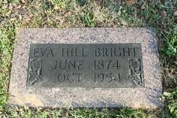 Eva Virginia <I>Hill</I> Bright