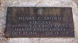 Henry C Brown