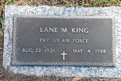 Pvt Lane Marshall King
