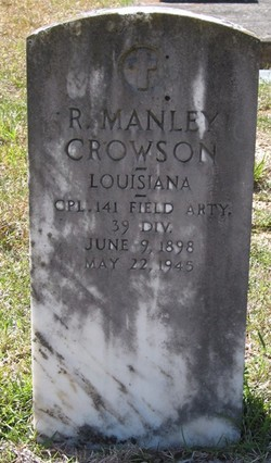 Robert Manley Crowson