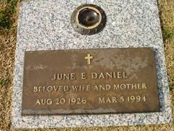 June Elizabeth <I>Ashford</I> Daniel