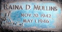 Raina Diane Mullins
