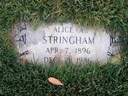 Alice Adaline <I>Rose</I> Stringham