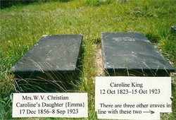 Mrs Emma Louise <I>King</I> Christian