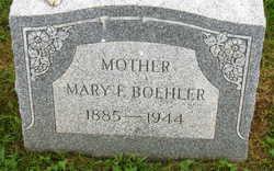 Mary Frances <I>Reynolds</I> Boehler