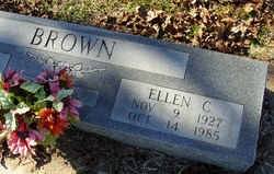 Ellen C <I>Whiteley</I> Brown