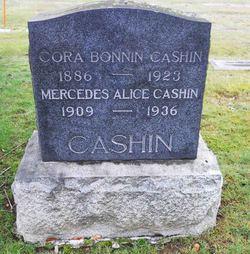 Cora Bonnin <I>Moore</I> Cashin