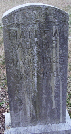 Mathew Adams