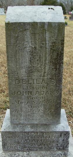 Delila Belle <I>Brewer</I> Adams