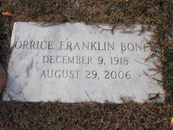 Orrice Franklin Boney
