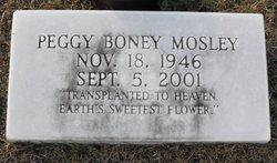 Peggy <I>Boney</I> Mosley