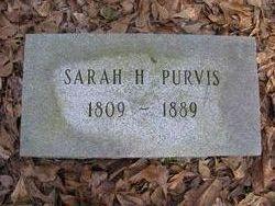 "Sarah ""Sallie"" <I>Huggins</I> Purvis"