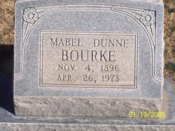 Mabel Clair <I>Dunne</I> Bourke