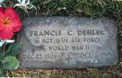 """Francis Charles """"Onk"""" Dehler"""