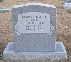 Georgia <I>McFall</I> Bagwell
