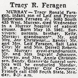 Tracy Ronald Feragen