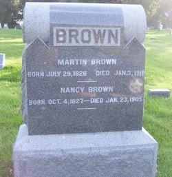 Nancy <I>Gulick</I> Brown