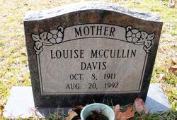 Louise <I>McCullin</I> Davis