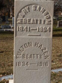 Mary J <I>Sansom</I> Beatty