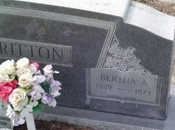 Bertha A. <I>Taylor</I> Albritton
