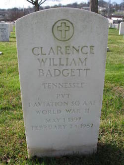 Clarence W Badgett