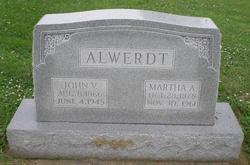 Martha A. <I>Winter</I> Alwerdt