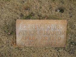 Rev Patrick F Marion