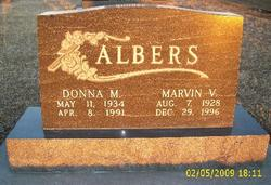 Marvin Vernon Albers