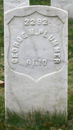 Pvt George M. Plummer