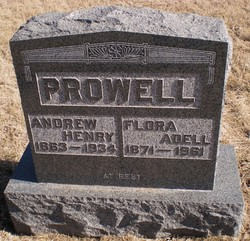 Flora Adell <I>Mills</I> Prowell