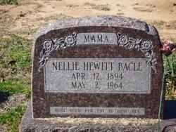 Nellie <I>Hewitt</I> Bacle