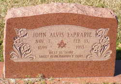 John Alvis LaPrarie