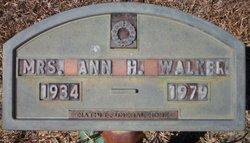 Ann H. Walker