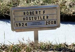 Robert F Hostutler