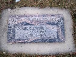 Donald Fernelius Olson