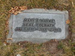 "Mary Elizabeth ""Mayme"" <I>Olsen</I> Colbath"