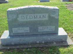 """Etta Floy """"Floy"""" <I>Roney</I> Dedman"""