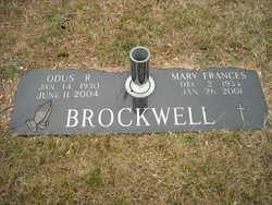 Mary Frances <I>Crigger</I> Brockwell