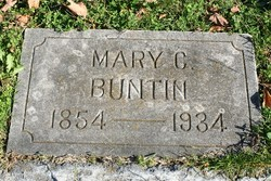Mary Catherine <I>Webb</I> Buntin