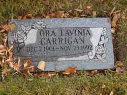 Ora Lavinia Carrigan