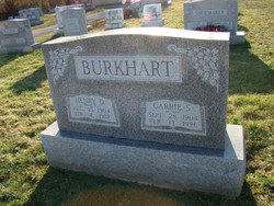 Carrie S. <I>Glick</I> Burkhart