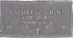 SSGT Lafayette Albert Hunt